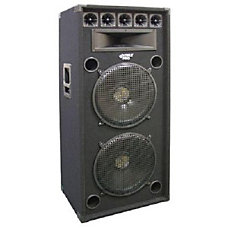 PylePro PADH152 600 W RMSSpeaker Black