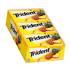 Trident Sugar Free Pineapple Twist Gum