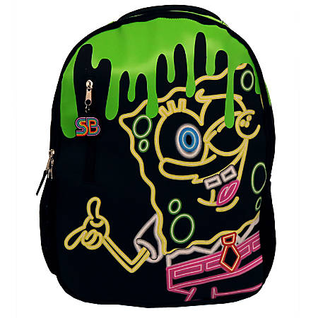 Slime SpongeBob SquarePants Backpack, Black