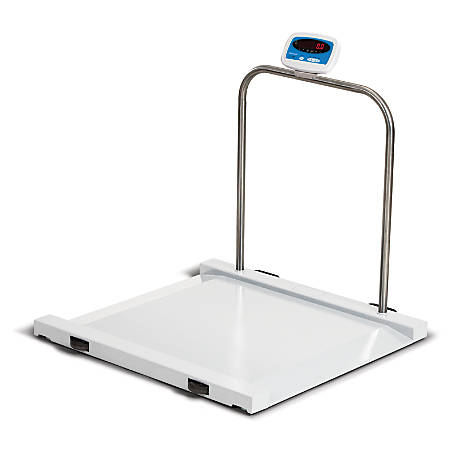 Brecknell® MS-1000 Bariatric Handrail Medical Health Scale