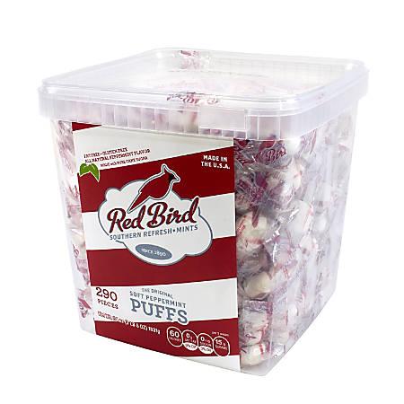 Red Bird Soft Peppermint Puff Tub, 54 Oz