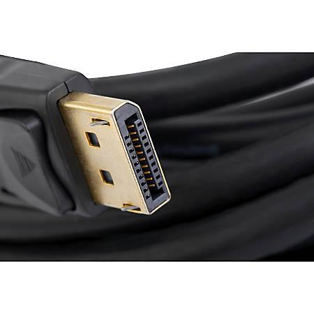 Unirise Display Port Cable M-M, 10ft