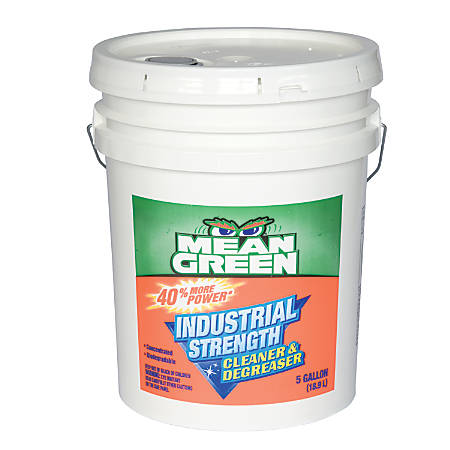 Mean Green Industrial Strength Cleaner And Degreaser, 5 Gallons