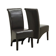 Monarch Specialties Evelyn Fabric Dining Chairs