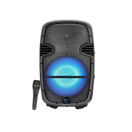 Technical Pro PW Series 3,000 Watt Active Loudspeaker, Black, PW1590LBT