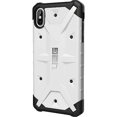Urban Armor Gear Pathfinder Series iPhone Xs Max Case - For Apple iPhone XS Max Smartphone - White - Impact Resistant, Scratch Resistant, Drop Resistant