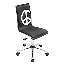 Lumisource Mid Back Chair Peace