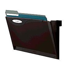 Rubbermaid Magnetic Pockets Smoke 1Each