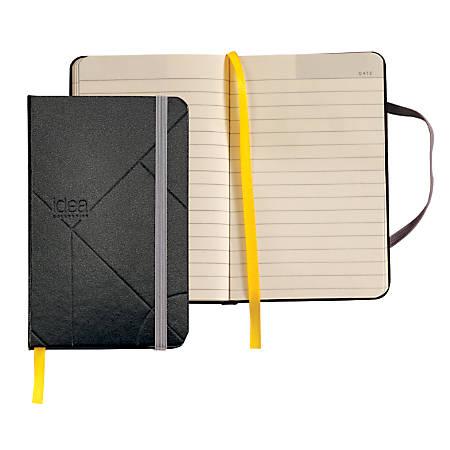 "TOPS® Idea Collective Hardbound Journal, 5 1/2"" x 3 1/2"", Black, 192 Sheets"