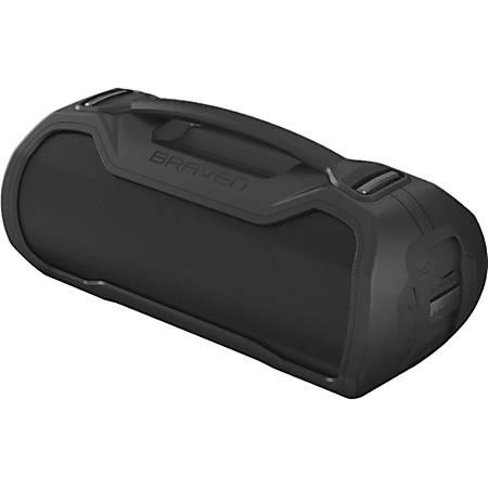 Braven Portable Bluetooth Speaker System - Black - Surround Sound, 360? Circle Sound - Battery Rechargeable