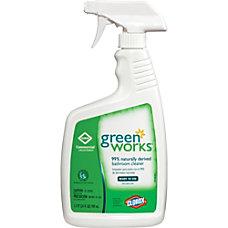 Green Works Natural Bathroom Cleaner Spray
