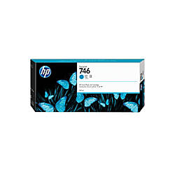 HP 746 300 mL Cyan Ink