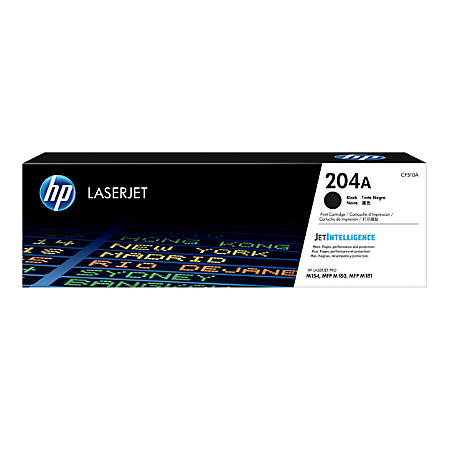 HP 204A (CF510A) Black Original LaserJet Toner Cartridge