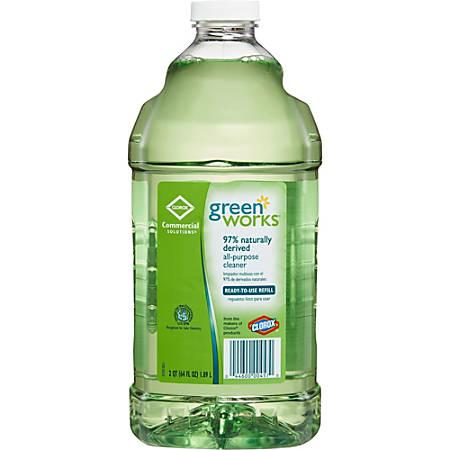 Green Works All-Purpose Cleaner Refill - Liquid - 0.50 gal (64 fl oz) - 234 / Bundle - Green