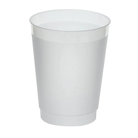 WNA Frost-Flex Frosted Tumblers, 10 Oz, Clear, Pack Of 500 Tumblers