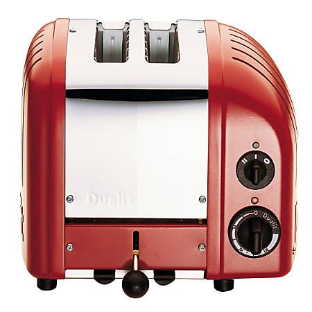 Dualit NewGen Extra-Wide Slot Toaster, 2-Slice, Red