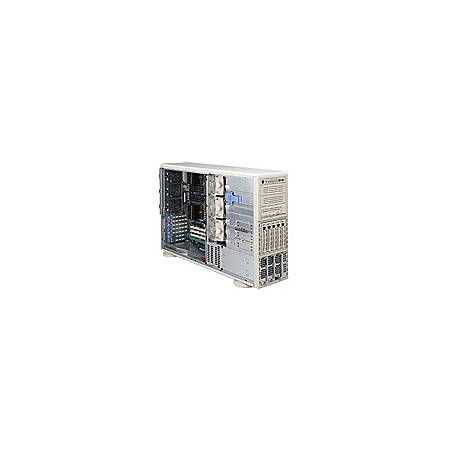 Supermicro A+ Server 4040C-TRB Barebone System - nVIDIA nForce Pro 2200 - Socket 940 - Opteron (Dual-core) - 1000MHz Bus Speed - 128GB Memory Support - Gigabit Ethernet - 4U Tower