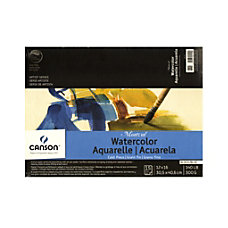 Canson Montval Watercolor Paper 12 x