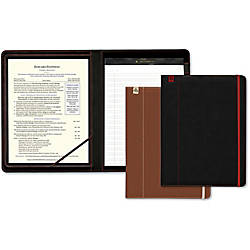 Southworth Leatherette Career Padfolio with Writing