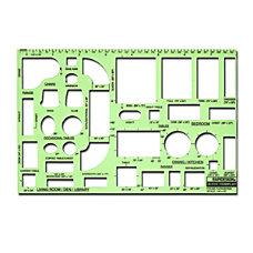 Rapidesign Interior Drafting And Design Templates