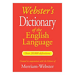 Websters dictionary of the english language by office - Office depot customer service phone number ...
