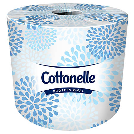 Kleenex® COTTONELLE 2-Ply Bathroom Tissue, 451 Sheets Per Roll, Case Of 20 Rolls