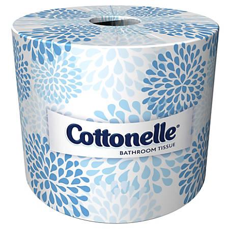 Kleenex® COTTONELLE® 2-Ply Bathroom Tissue, 451 Sheets Per Roll, Case Of 20 Rolls