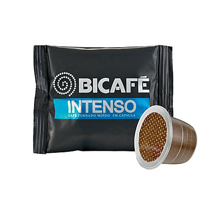 Bi-Cafe Single Serve Coffee Capsules, Intenso, 5.8 Grams, Pack Of 50