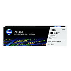 HP 128A Black Original Toner Cartridges