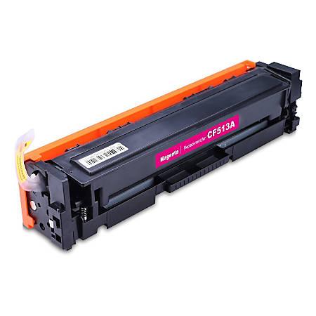 M&A Global Cartridges CF513A (HP 204A / CF513A) Remanufactured Magenta Toner Cartridge