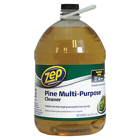 Zep® Commercial Multipurpose Pine Cleaner, 128 Oz.