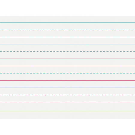 """Pacon Multi-Program Handwriting Papers, Grade K, 10 1/2"""" x 8"""", Pack Of 500 Sheets"""
