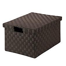 Honey Can Do Woven File Box