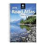 Ace Office RM528019635 Rand Mcnally Road Atlases, 2019, Spiral, 264 Pages