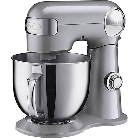 Cuisinart Precision Master SM-50BC Stand Mixer - 500 W - Silver, Polished Stainless Steel