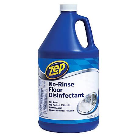 Zep® Commercial No-Rinse Floor Disinfectant, 128 Oz.