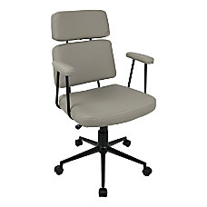 LumiSource Sigmund Contemporary High Back Chair