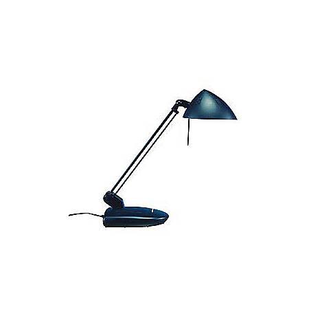 Ledu Halogen Task Lamp With Base, 100 Watt, Matte Black