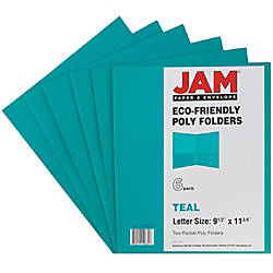 JAM Paper 2 Pocket Eco Friendly