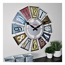 FirsTime Co Numeral Windmill Wall Clock
