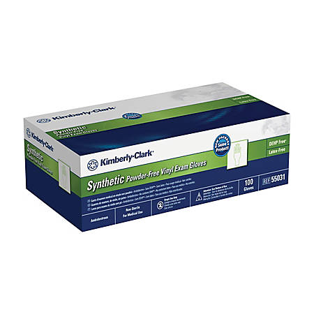 Kimberly-Clark® Safeskin Powder-Free Exam Gloves, Extra-Large, Clear, Box Of 90