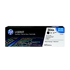HP 304A Black Toner Cartridge CC530A