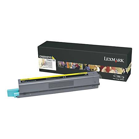 Lexmark™ C925H2YG High-Yield Yellow Toner Cartridge