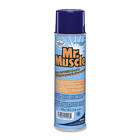 JohnsonDiversey Mr. Muscle Oven And Grill Cleaner, 19 Oz., Carton Of 6