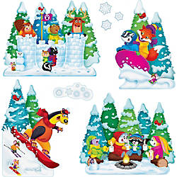 Trend Wonderful Winter Bulletin Board Set