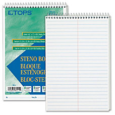 TOPS Steno Books 80 Sheets Wire