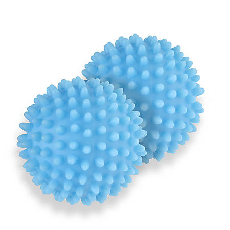 Honey-Can-Do Dryer Balls, Blue, Pack Of 6