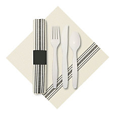 CaterWrap Pre Rolled Cutlery FashnPoint Dishtowel