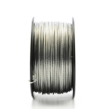 Moore Braided Picture Wire, 35 Lb, 20 Strand, 5 Lb Spool