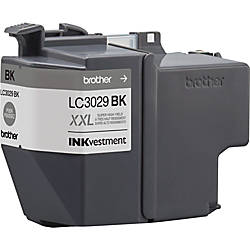 Brother Genuine LC3029BK INKvestment Super High